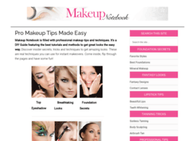 makeupnotebook.com