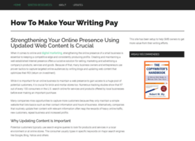 makewritingpay.com