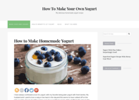 makeyourownyogurt.com