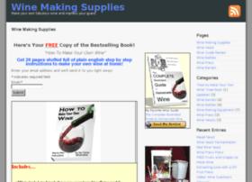 making-wine-supplies.org