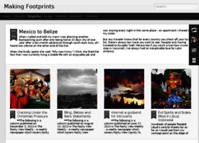 makingfootprintsfollowingfootsteps.blogspot.com