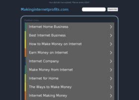 makinginternetprofits.com