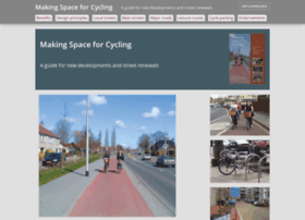 makingspaceforcycling.org