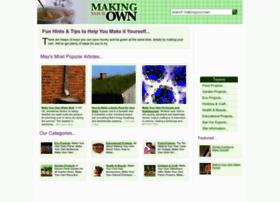 makingyourown.co.uk