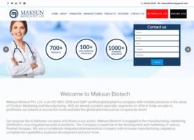 maksunbiotech.com