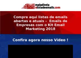 maladiretaelistadeemails.com