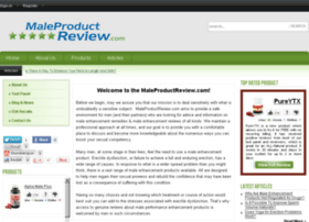 maleproductreview.com