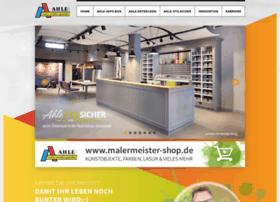 malermeister-ahle.de