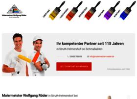 malermeister-w-roeder.de