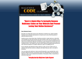 maliciouscodecleaner.com