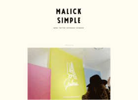 malicksimple.tumblr.com