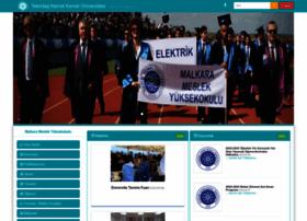malkaramyo.nku.edu.tr