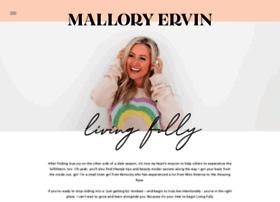 malloryervin.com