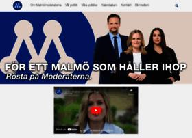 malmomoderaterna.se