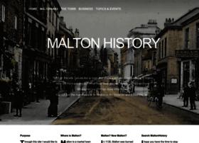 maltonhistory.info