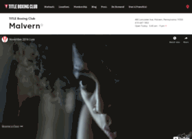 Malvern.titleboxingclub.com
