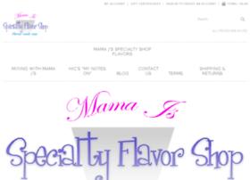 mamajsflavorshop.com