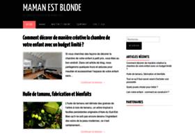 mamanestblonde.com