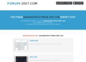 mamanochoco.forum-2007.com