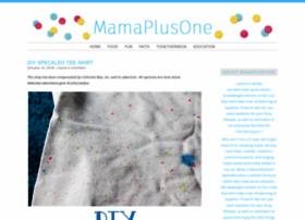 mamaplusone.com