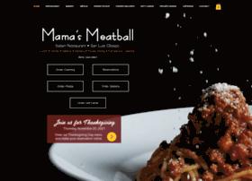 mamasmeatball.com