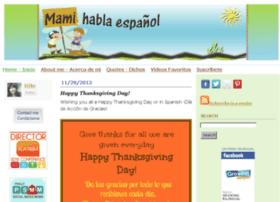 mamihablaespanol.com