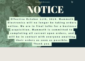 mammothelectronics.com