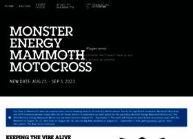 mammothmotocross.com