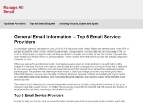 manageallemail.com