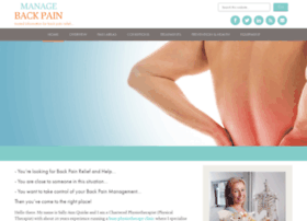 managebackpain.com