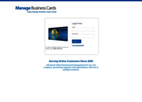 managebusinesscards.com