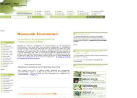 management-environnement.com