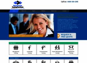 managementtraininginstitute.com
