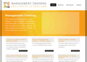 Managementtraininginstitute.ie