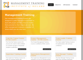 managementtraininginstitute.ie