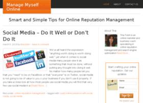 managemyselfonline.com