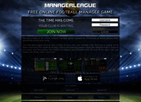 managerleague.com