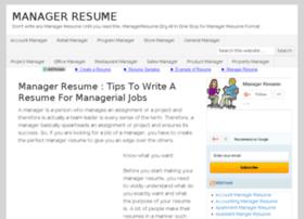 managerresume.org
