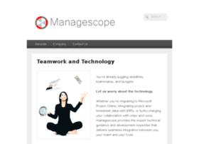 managescope.com