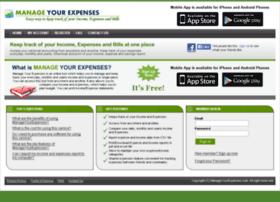 manageyourexpenses.com