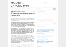 managingchronicpain.wordpress.com