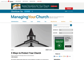 managingyourchurch.com