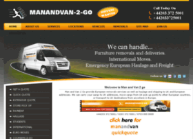 manandvan2go.co.uk