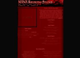 manarecording.com