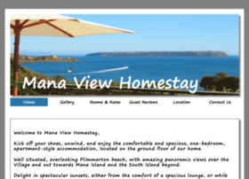 manaviewhomestay.co.nz