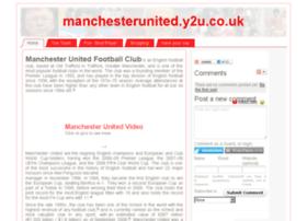 manchesterunited.y2u.co.uk