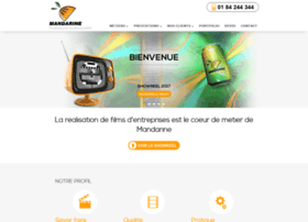 mandarine-audiovisuel.com