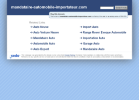mandataire-automobile-importateur.com