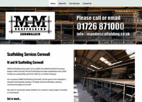 mandmscaffolding.co.uk