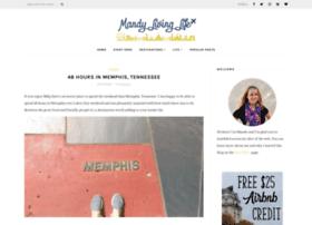 mandylivinglife.com